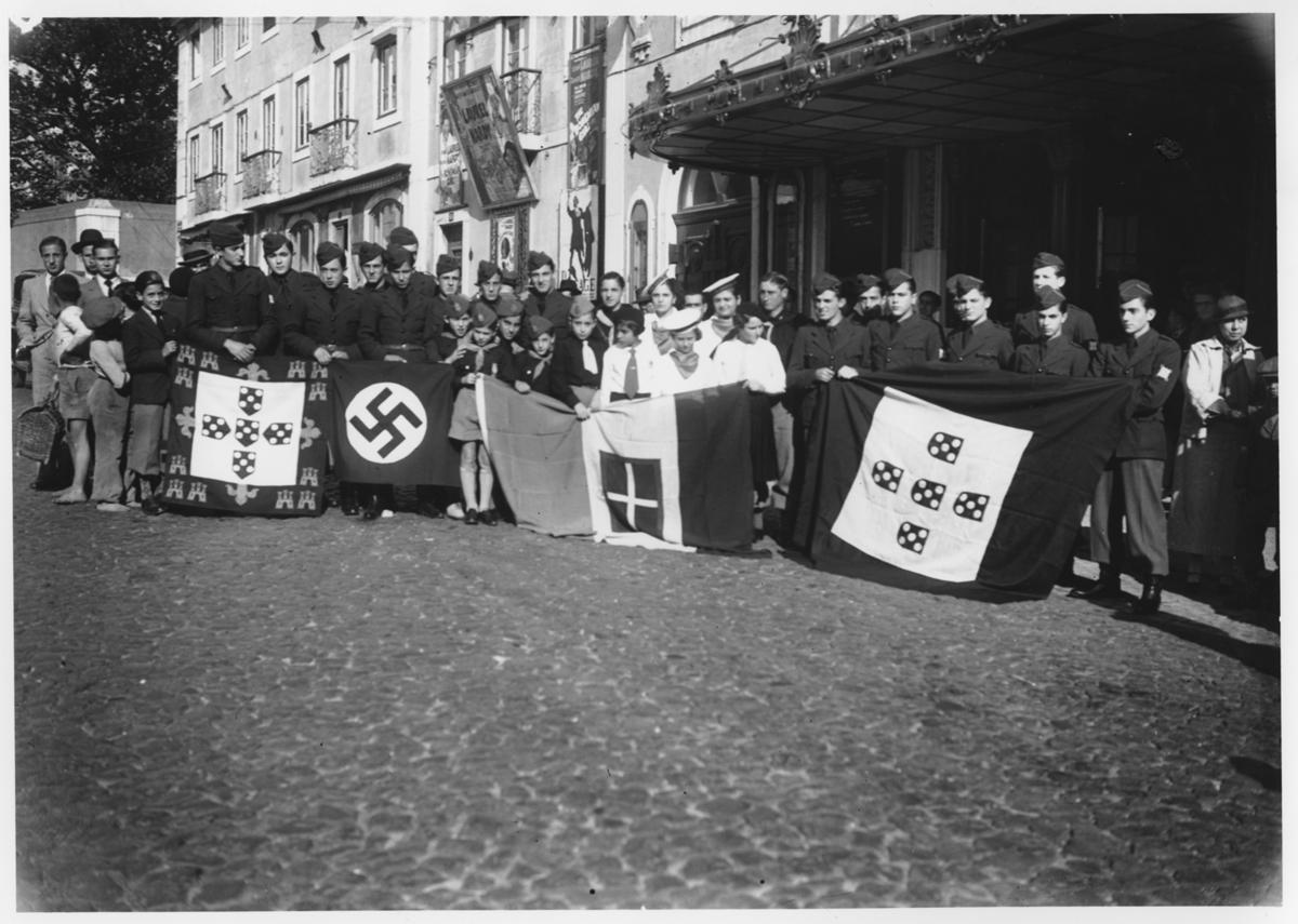 Przedstawiciele Młodzieży Portugalskiej, Lizbona, 15 listopada 1936