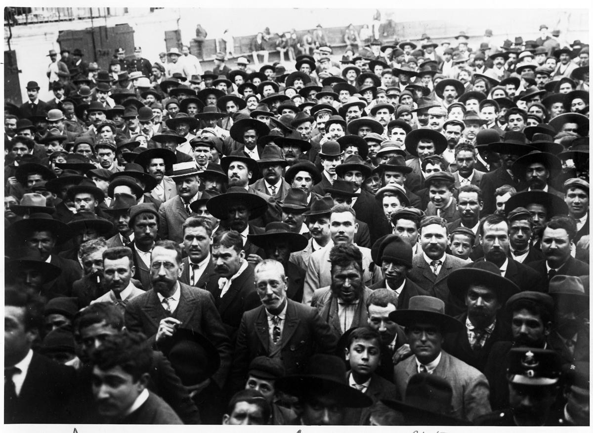 Wiec republikański na arenie walk byków w Santarém, 1907