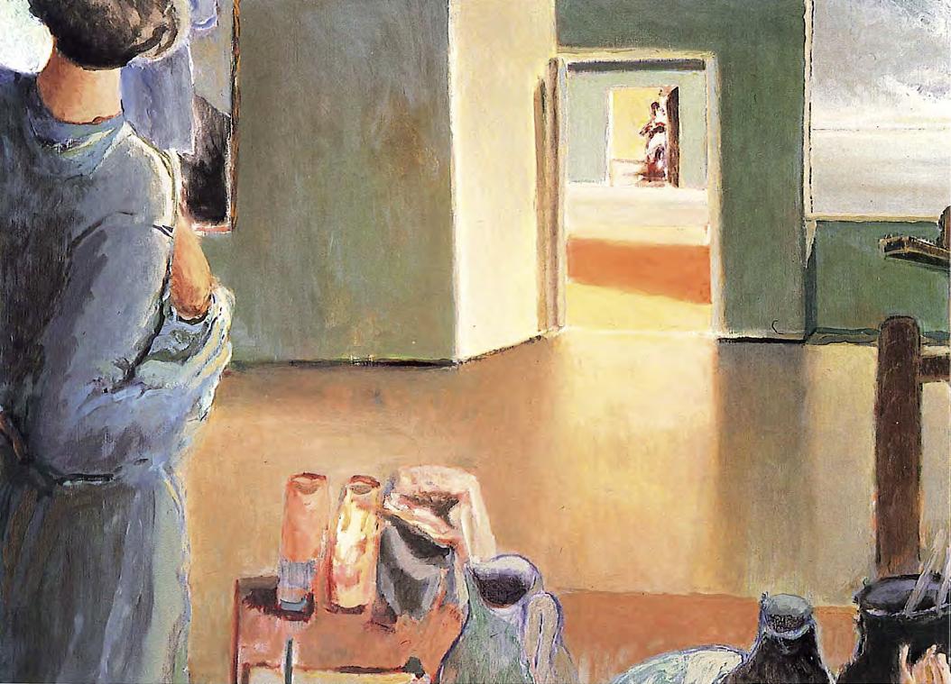 """Menez, """"Sem título"""", 1986/87. Acrílico/tela, 97×130 cm. Coleção particular. Fotografia de Mário de Oliveira. Arquivo fotográfico do CAM-JAP"""